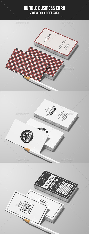 Business Cards - Bundle - Retro/Vintage Business Cards