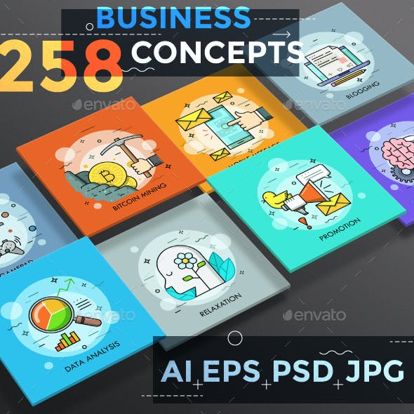 258 Thin Line Business Concepts