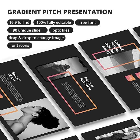 Gradient Pitch - PowerPoint Presentation