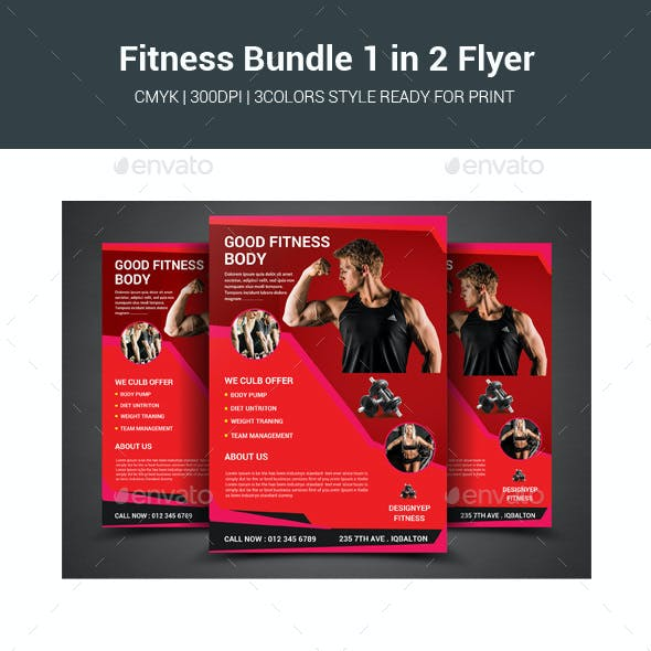 Fitness Bundle 1 in 2 Flyer