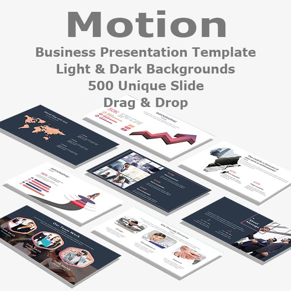 Motion Business PowerPoint Template