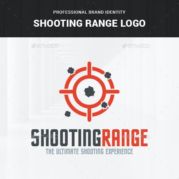 Shooting Range Logo Template