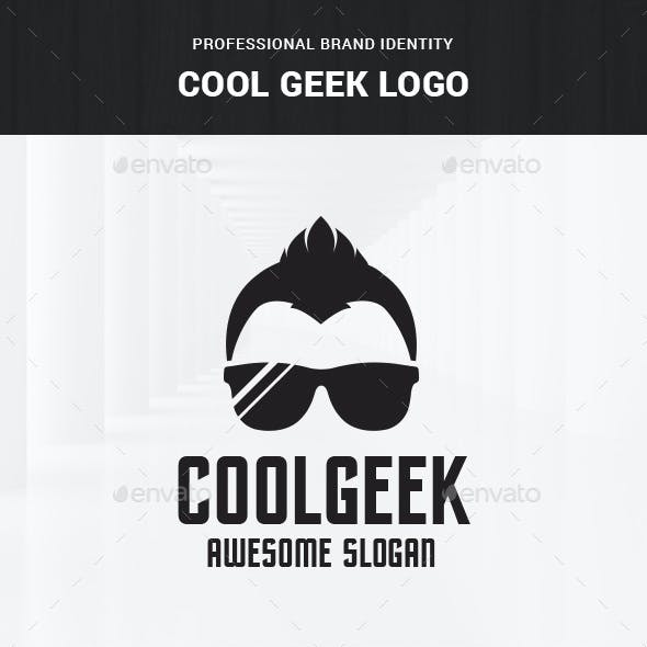 Cool Geek Logo Template