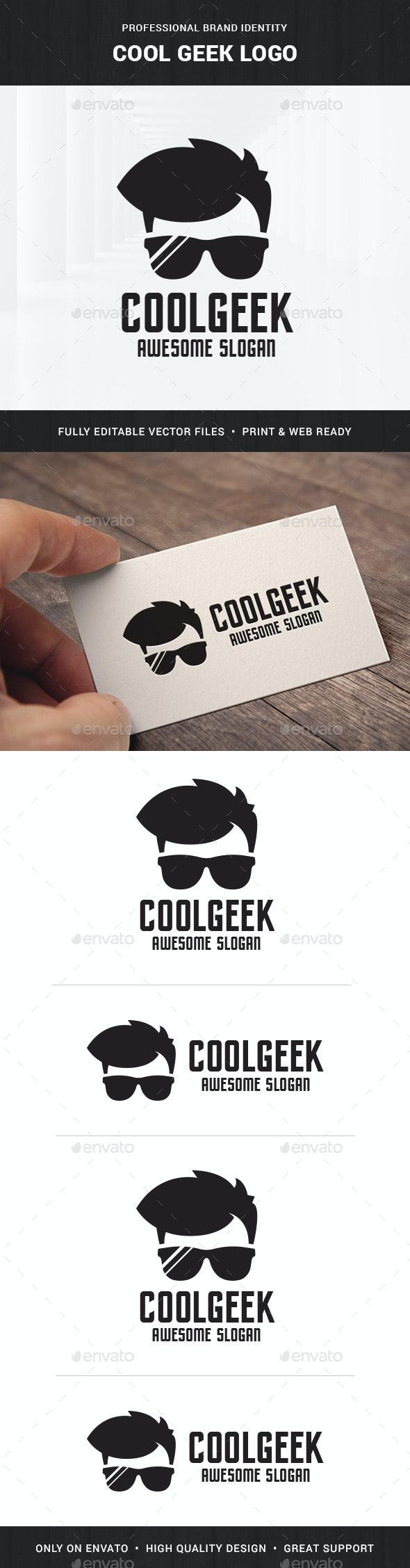 Cool Geek Logo v2