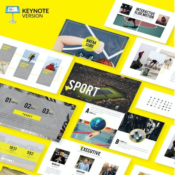 Sport - Keynote Presentation Template