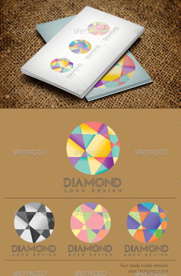 Diamond Logo - Abstract Logo Templates
