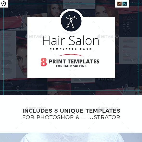 Hair Salon Templates Bundle