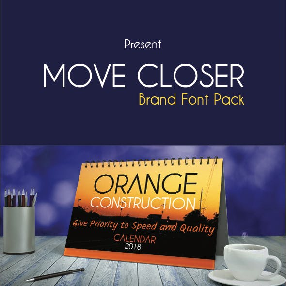 Move Closer - Brand Pack Font