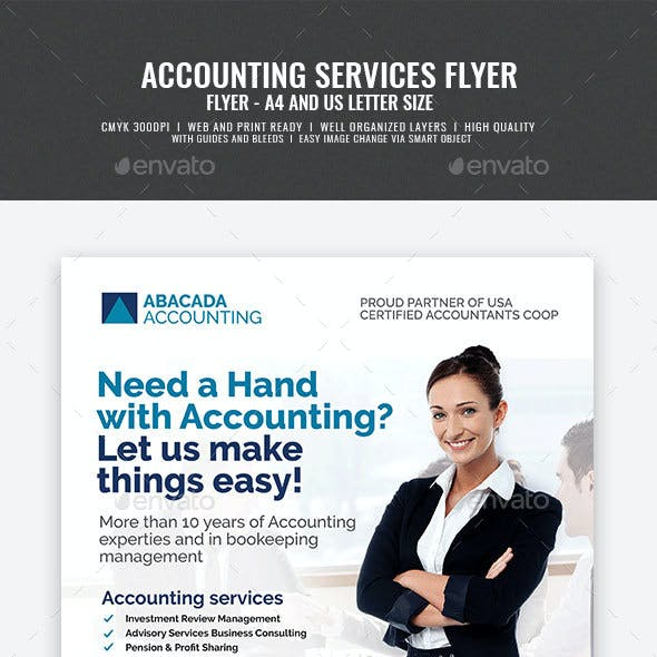 Accounting Firm Flyer
