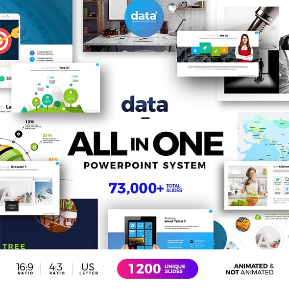 Data | Powerpoint Infographic System