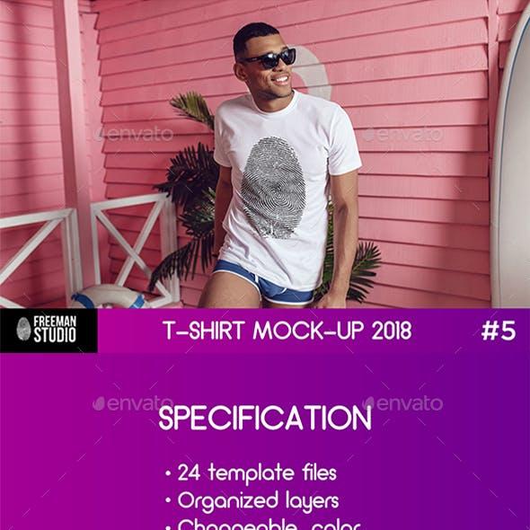 T-Shirt Mock-Up 2018 #5