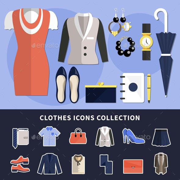 Clothes Icon Collection