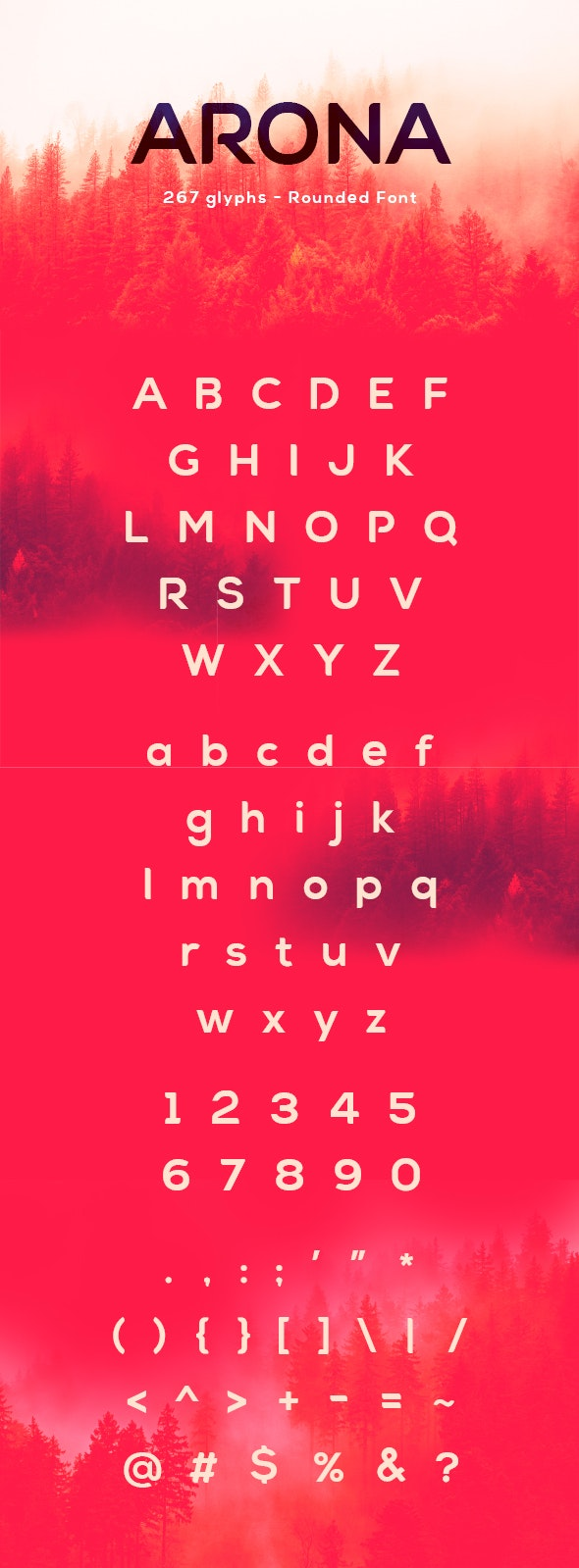 Arona Font - Sans-Serif Fonts