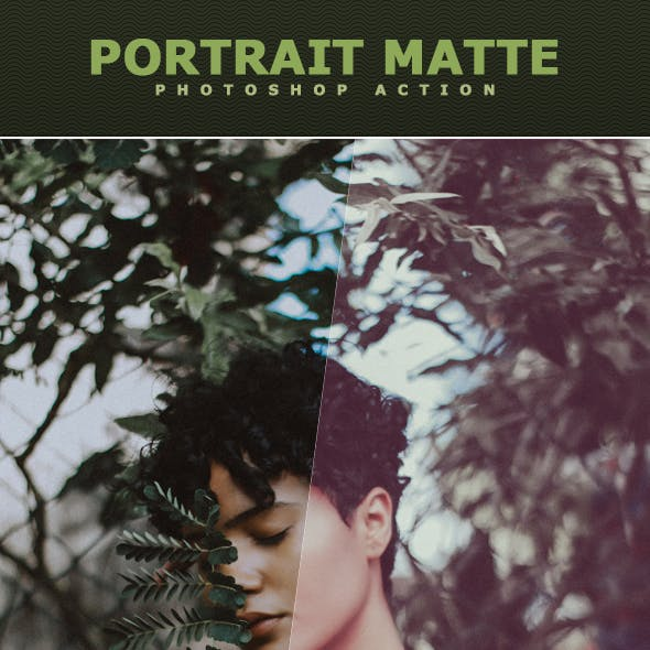 Portrait Matte Action