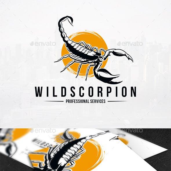 Wild Scorpion Logo Template