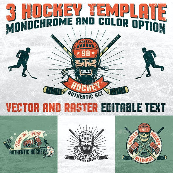 Authentic Hockey Set