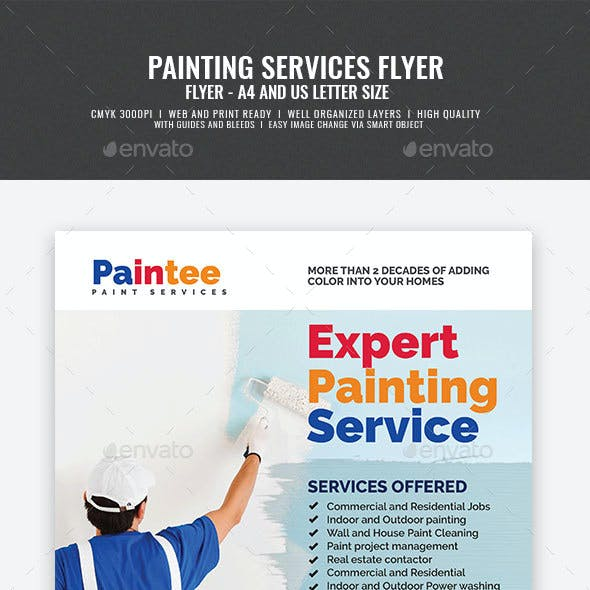 Painting Contractor Flyer