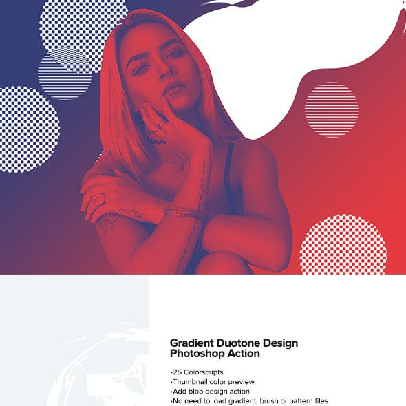 Gradient Duotone Design Photoshop Action