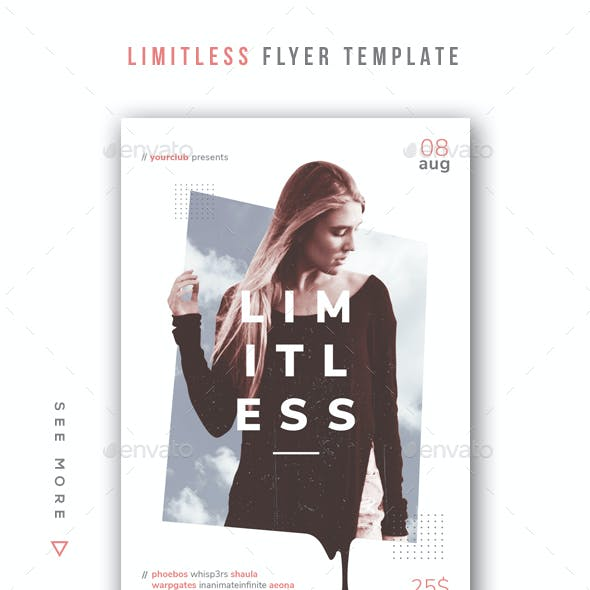 Limitless Flyer Template