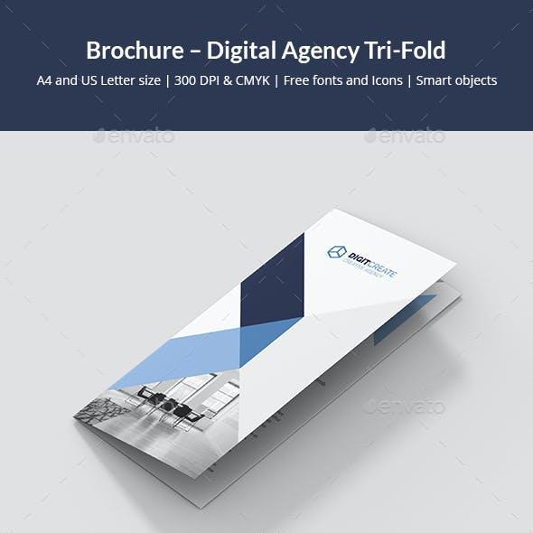 Brochure – Digital Agency Tri-Fold