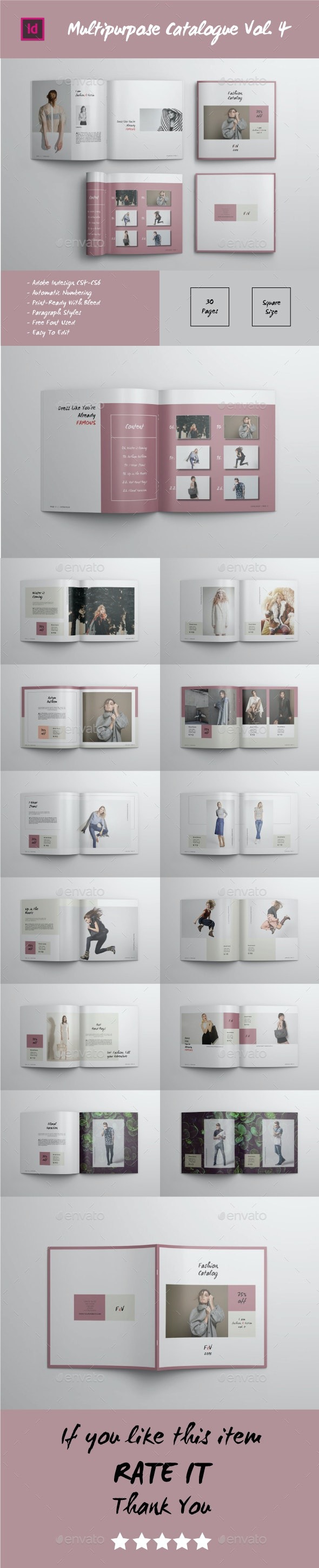 Multipurpose Square Catalogue Vol.4 - Catalogs Brochures