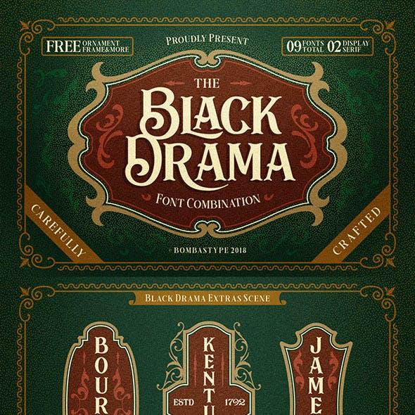 Black Drama Combination + Extras