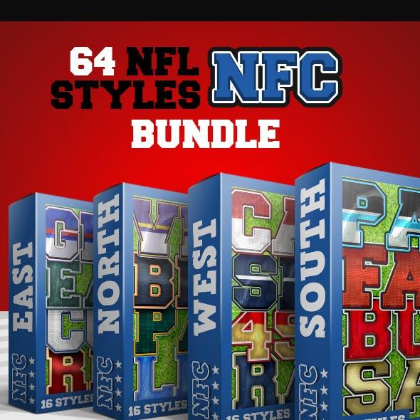 NFL Styles - NFC Bundle