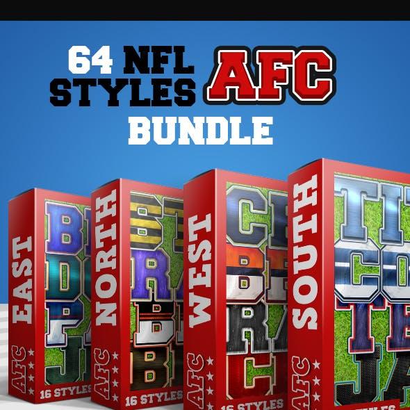 NFL Styles - AFC Bundle