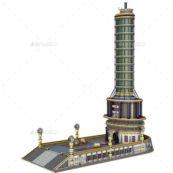 Sci-Fi Skyscraper