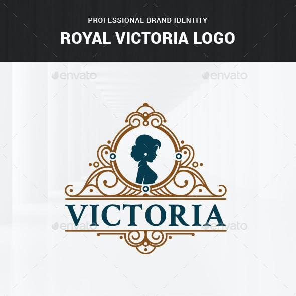 Royal Victoria Logo Template