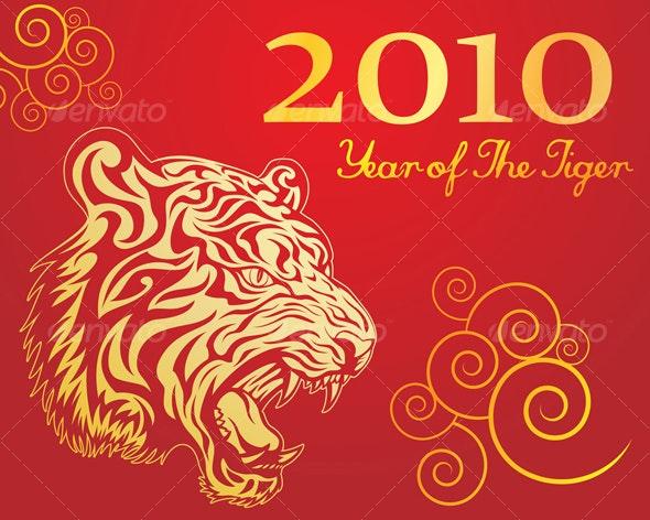 Year Of The Tiger - New Year Seasons/Holidays