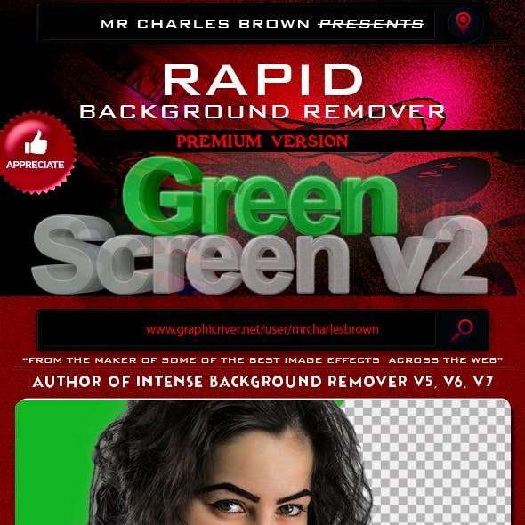 Rapid Green Screen Background Remover v2