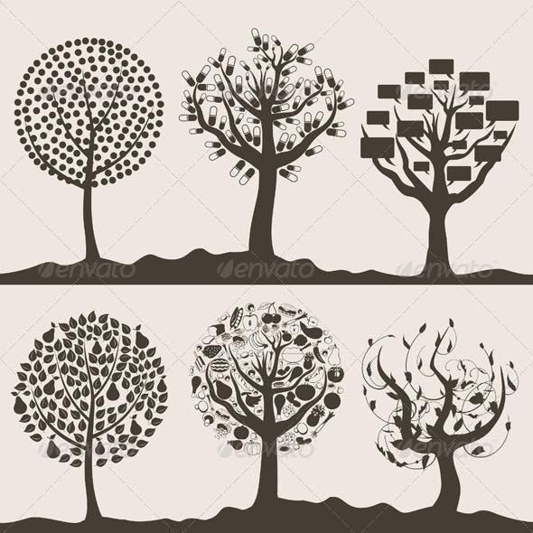 Wood tree6