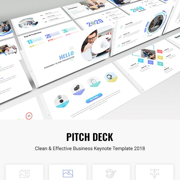 Pitch Deck - Clean & Effective Business Keynote Template