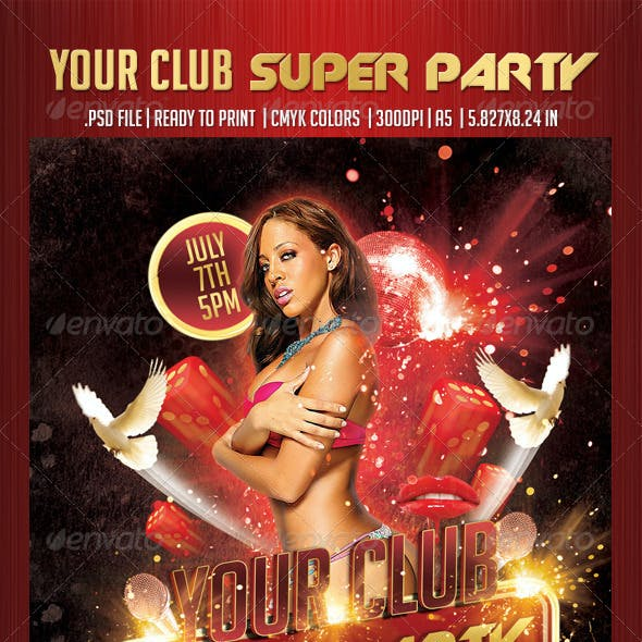 Your Club Super Party