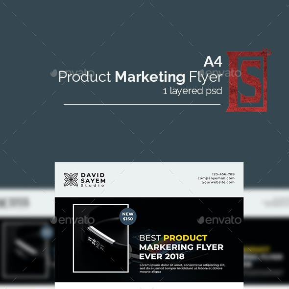 Product Marketing Flyer/Poster