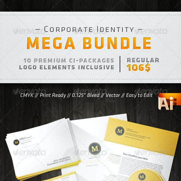 Corporate Design Mega Bundle