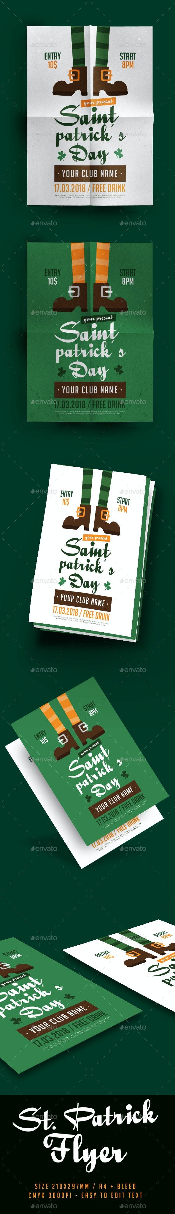 Saint Patrick's Day Flyer - Events Flyers