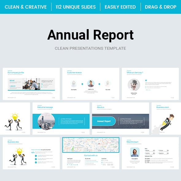 Annual Report PowerPoint Template 2.0