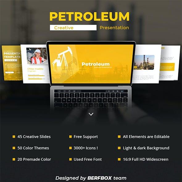 Petroleum PowerPoint Template