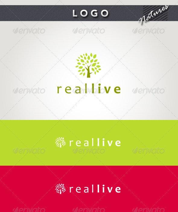 Real Live Logo - Nature Logo Templates
