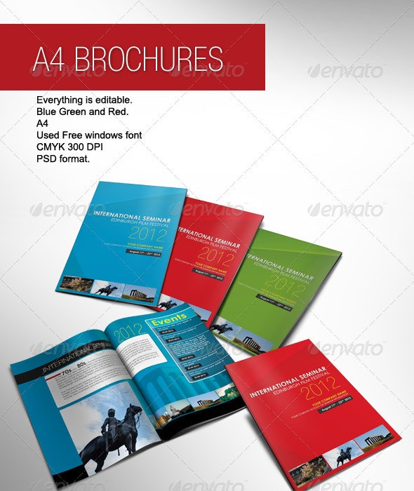 A4 Brochure - Corporate Brochures