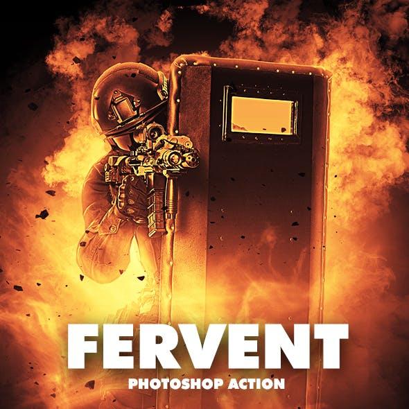 Fervent Photoshop Action