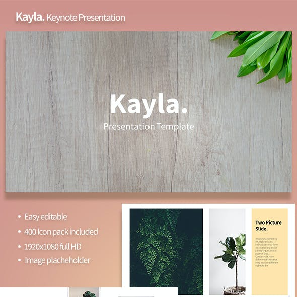 Kayla Keynote Template