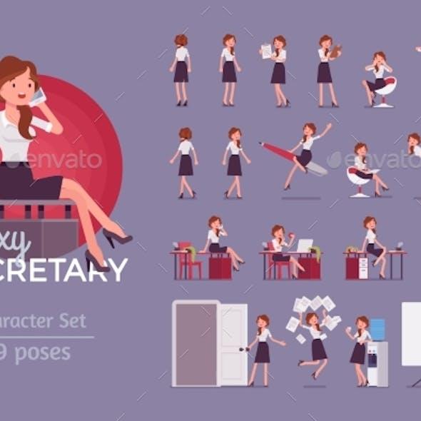 Secretary Ready-to-Use Character Set