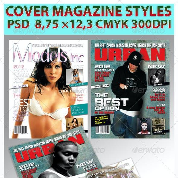 Magazine Cover Style
