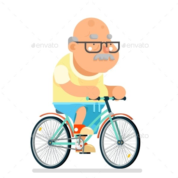 Fitness Cycling Grandfather