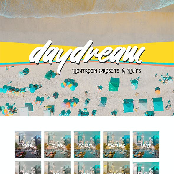 Daydream Lightroom Presets and LUTS