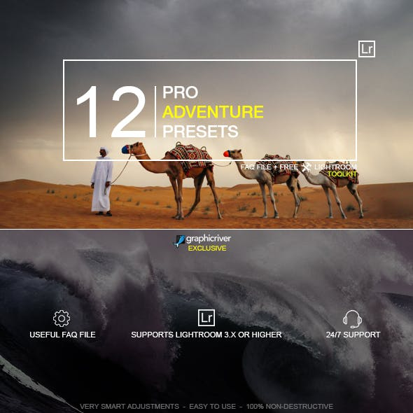12 Pro Adventure Presets