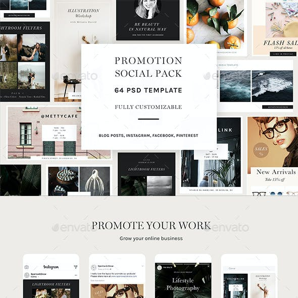 Promotion Social Pack Vol1